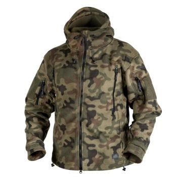 Polar Helikon PATRIOT Double Fleece PL Woodland (BL-PAT-HF-04)