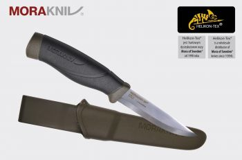 Nóż Morakniv Companion HeavyDuty MG (C) Carbon Steel Olive Green (ID 12494)